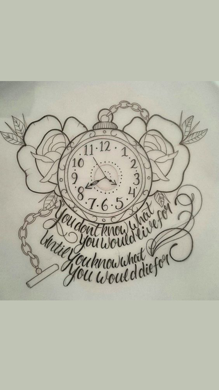Time Watch Tattoo