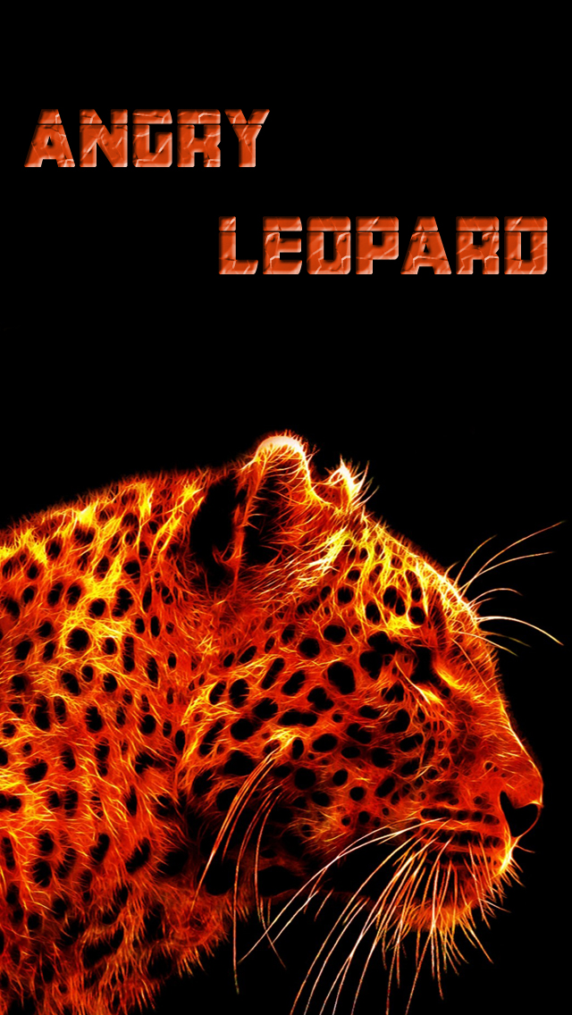 Angry Hot Leopard