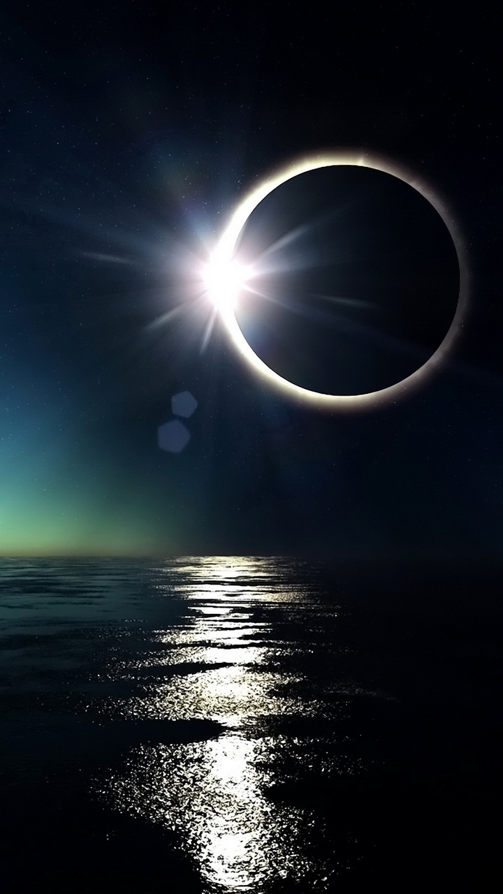 Beautiful Eclipse Wallpaper