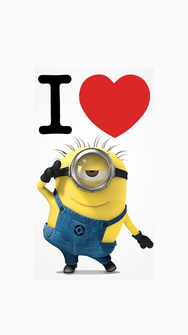 I Love Minions Wallpaper