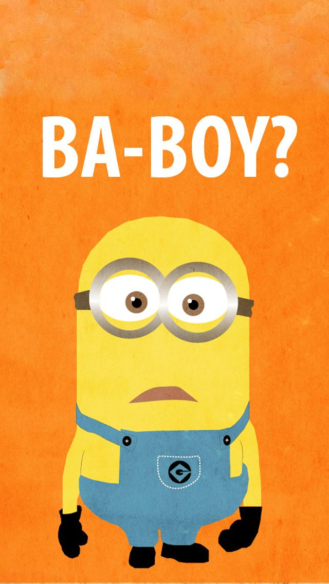BA BOY Orange Minion