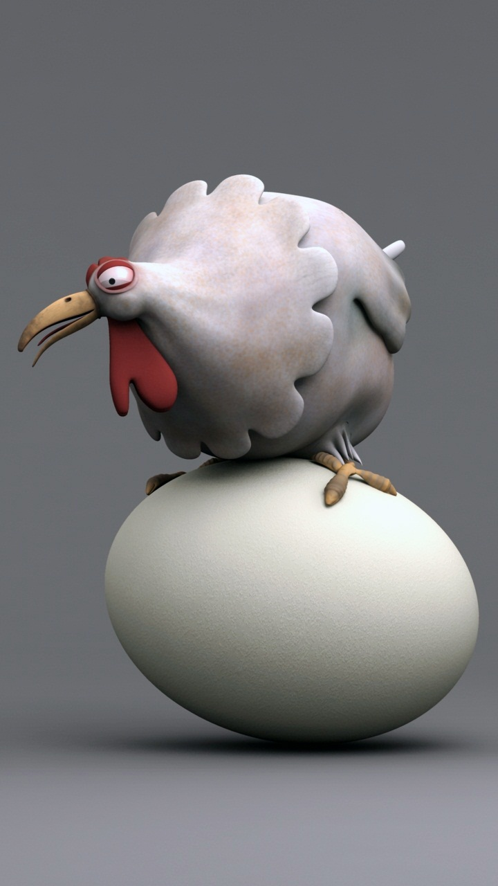 Funny Egg Chicken