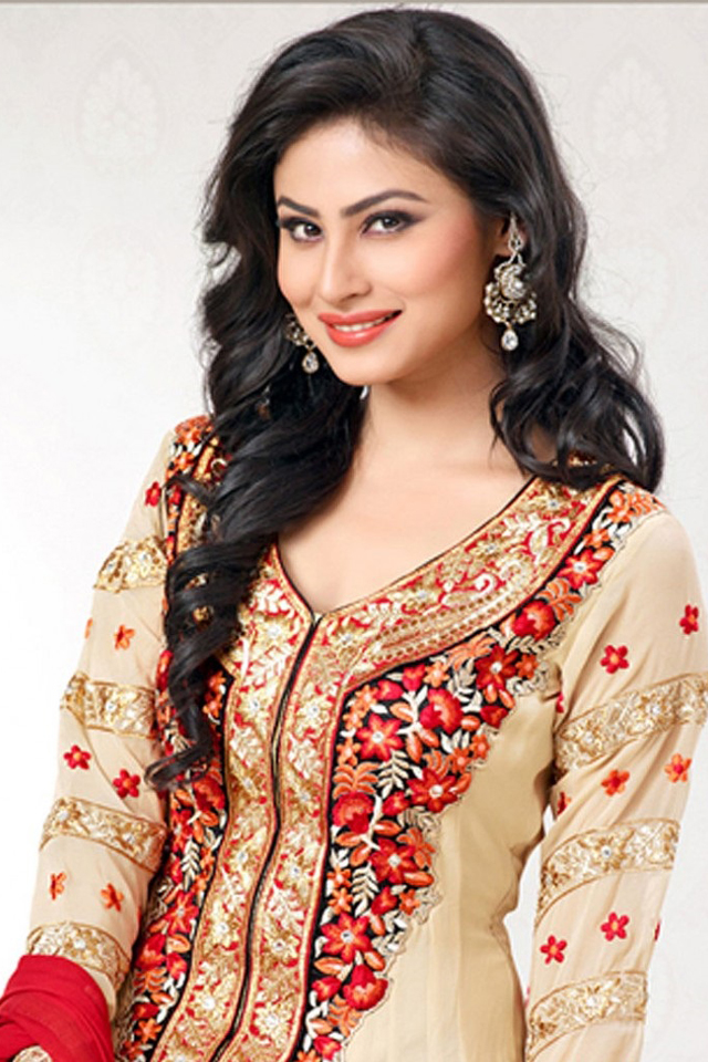Beautiful Mouni Roy in Suit